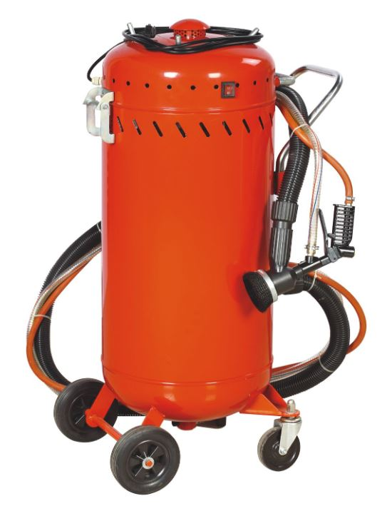 SB28 Abrasive Sand Blast Pot with Built in Vacuum